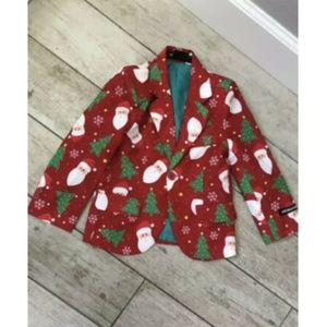 Santa Jacket Suitmeister Sz S Kids